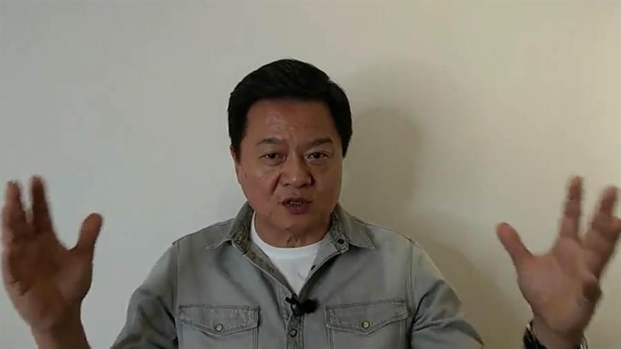 周錫瑋憂心指「二桃殺三士」,黨主席之爭是個毒殺國民黨的桃子。(圖/摘自周錫瑋臉書)