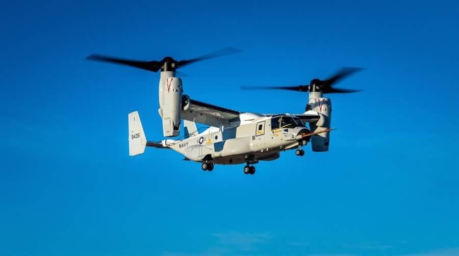 CMV-22B將是美國航艦未來的運輸機,它的運輸量比MV-22還要高。(圖/貝爾)