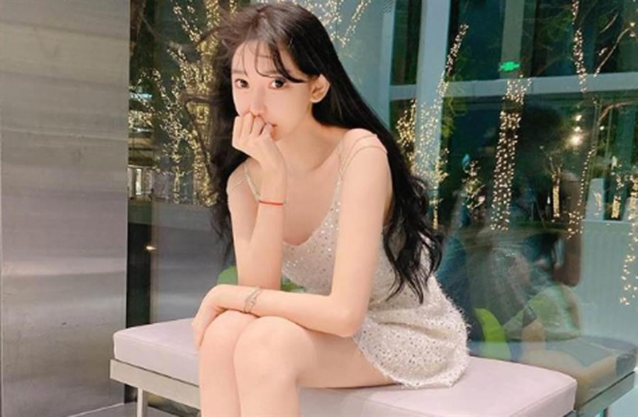 陳冠希舊愛謝芷蕙,長大後容貌變化很大。(翻攝自謝芷蕙IG)