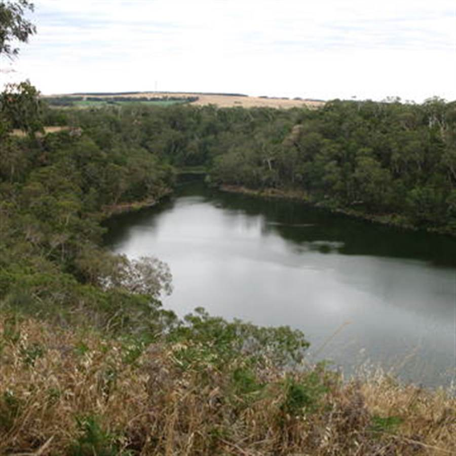 布吉必姆文化景觀,水道長約25公尺。(UNESCO網站)