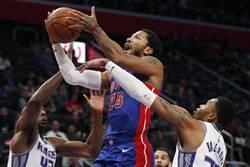 NBA》連續10場得分破20 羅斯平生涯助活塞奪勝