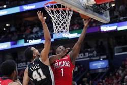 NBA》3分08秒攻下17分 狀元郎首秀驚豔