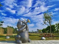 台南山上花園水道博物館添新裝 春節喜迎賓