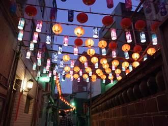 北港點亮「巷弄花燈」 懷舊復古迎新春