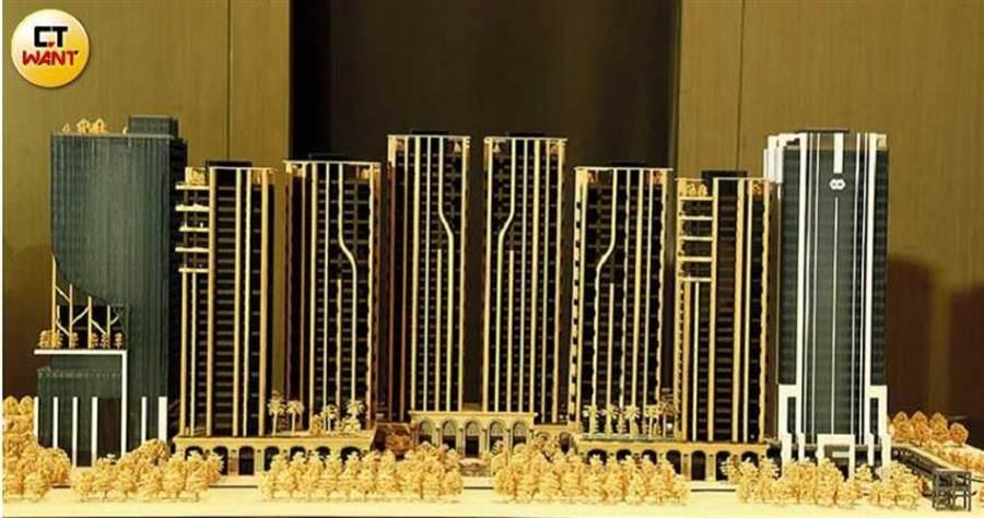 基地廣達9,453坪的世界明珠,擁有高鐵第一站、鄰近台北流行音樂中心及正對萬坪公園綠地的優勢。(圖/黃鵬杰攝)