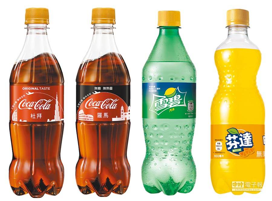 可口可樂表示,不會放棄使用塑料瓶,因為消費者的習慣。圖/業者提供