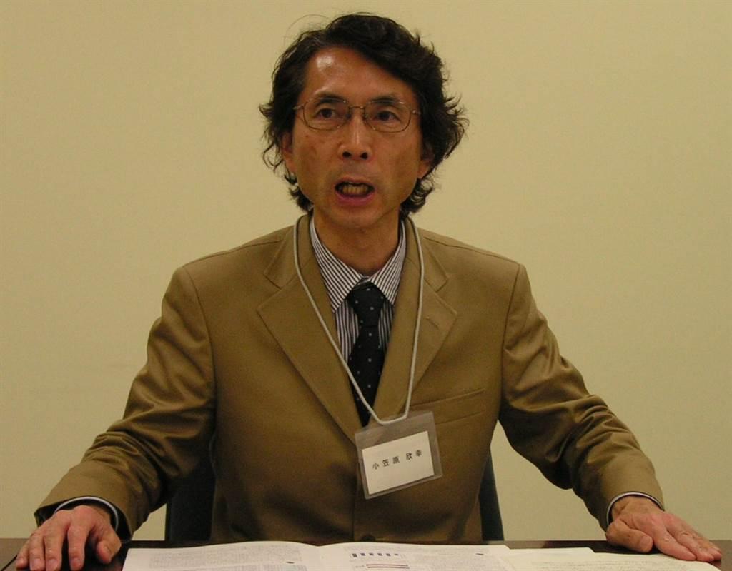 東京外國語大學副教授小笠原欣幸。(圖/資料照片,楊珮玲攝)