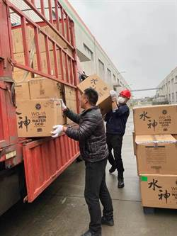 旺旺捐武漢紅十字會 水神消毒品用於疫區防控