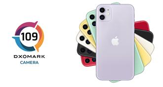 DxOMark公布iPhone 11相機分數109分 錄影表現佳