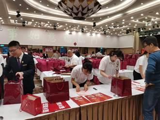 台北福華常溫年菜估計為北市銷售冠軍 醉雞用2.5噸雞腿年增25%