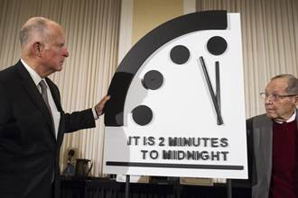 末日鐘撥快20秒,創73年來最接近人類毀滅的時刻