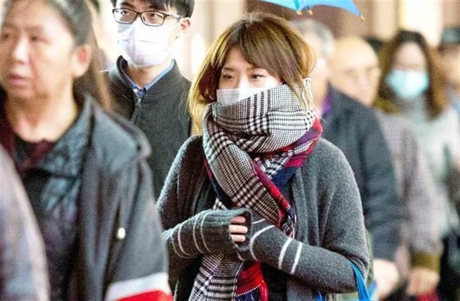第二波冷空氣這天到 吳德榮:入冬以來最強。(資料照)
