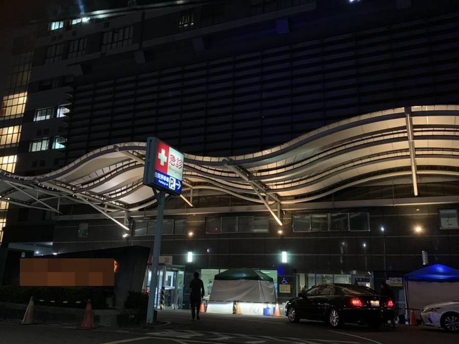 嘉義市某家醫院傳出有2019新型冠狀病毒疑似病例,患者為武漢返台商人。(程炳璋攝)