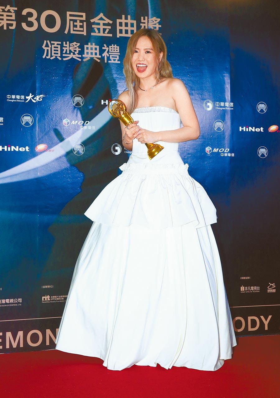 孫盛希以《希遊記》獲得金曲30最佳國語專輯獎。(資料照片)