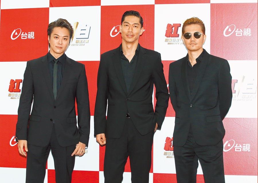 林志玲夫婿AKIRA所屬的日本J-POP歌舞團體放浪兄弟,參加今年台灣春晚《紅白藝能大賞》。(本報系資料照片)