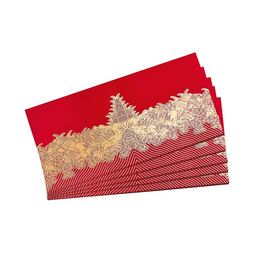 福如東海紅包袋