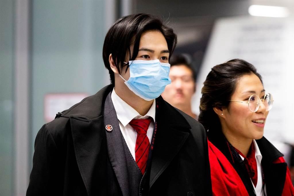 新加坡26日發現第4起境外移入武漢肺炎病例。圖非當事人。(圖/路透社)