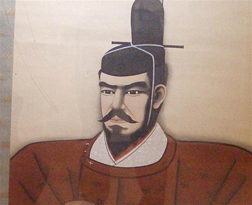 明治天皇畫像。(圖/中新社)
