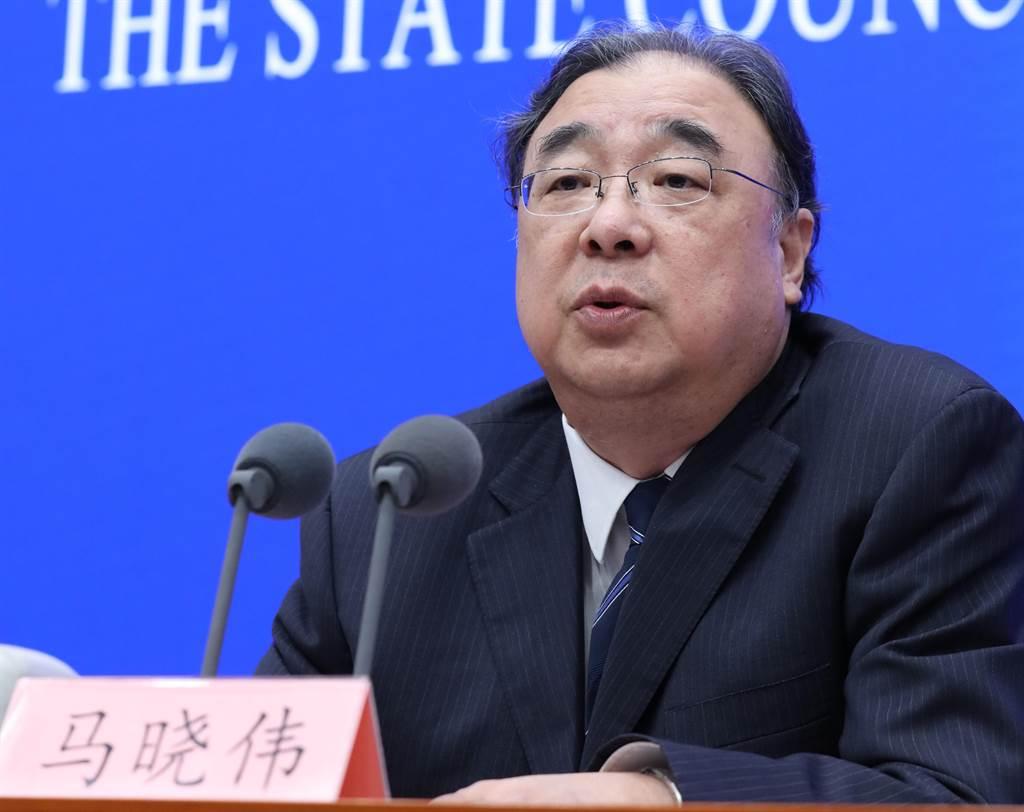 大陸國家衛生健康委員會主任、黨組書記馬曉偉(圖)證實,武漢肺炎病毒在潛伏期確實有傳染性。(圖/中新社)