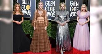 女星紅毯時尚的PICK是?翻玩經典還是火辣性感 金球獎紅毯爭奪C位