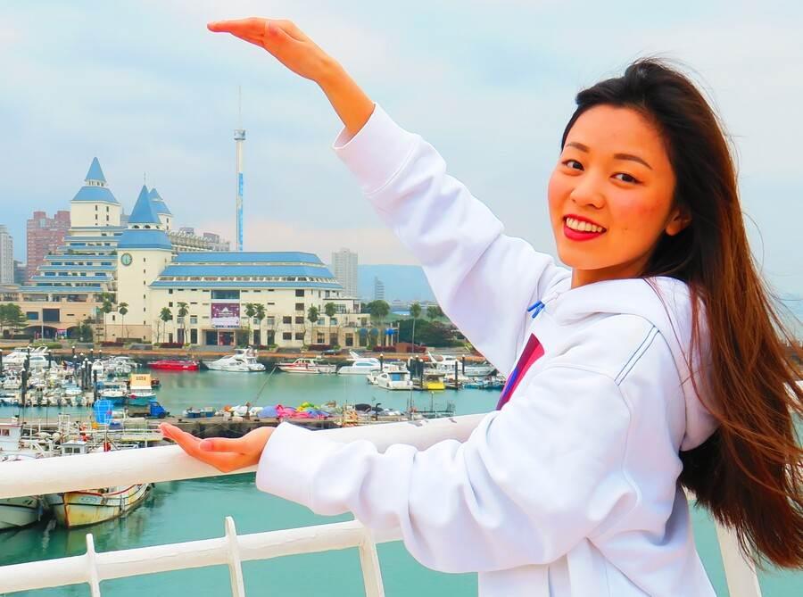 百米福容飯店情人塔,登高望遠風光絕佳。(圖取自新北市漁業處官網)