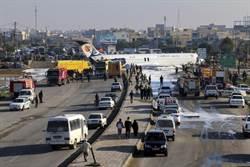 奇蹟!伊朗民航機腹部著地降落公路 無死僅2傷