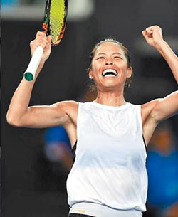 澳網公開賽 謝淑薇挺進8強
