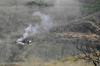 Kobe墜機爆炸 驚悚畫面來源全曝光