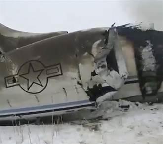 影》美軍機墜毀 塔利班稱擊落 無人生還