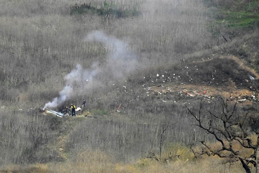 美國職籃NBA傳奇球星布萊恩26日搭乘直升機時不幸墜機身亡,享年41歲,據目擊者描述,直升機似乎是在大霧中墜機,另外專家也指出,當時該區域能見度極低。(圖/美聯社)