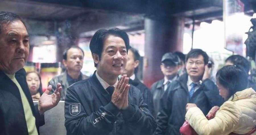 賴清德認為因應武漢疫情,中國應該持開放的態度接受國際援助。(圖/截自賴清德臉書)