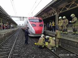大年初四傳月台落軌意外 台南老翁慘死普悠瑪輪下