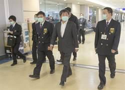 2020武漢風暴》陳時中視察桃機 強調防疫不能當兒戲