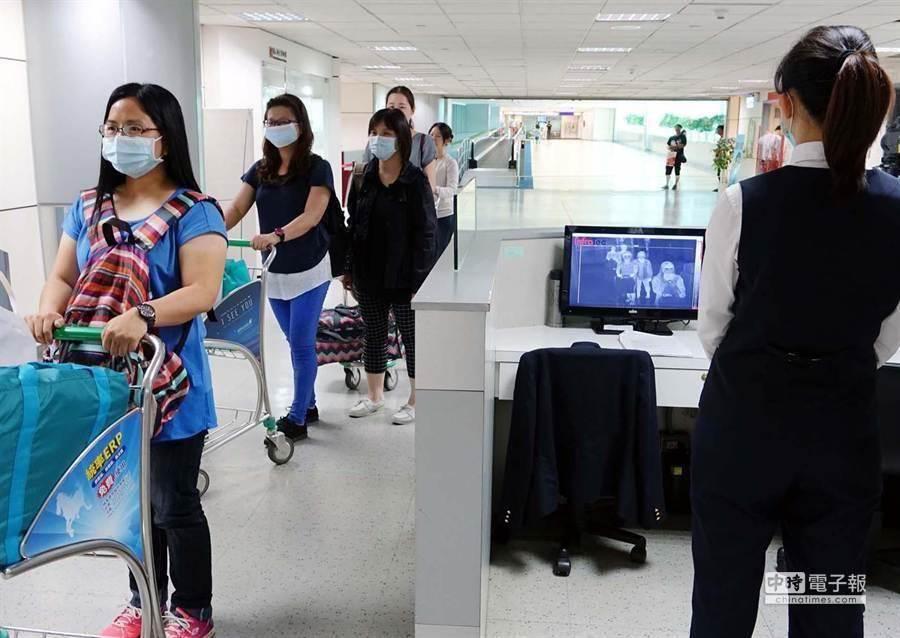 各機場及港埠單位配合疾管署,全面提升檢疫警戒。(本報資料照)