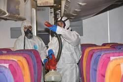 泰航防疫 針對疫區航班強度消毒