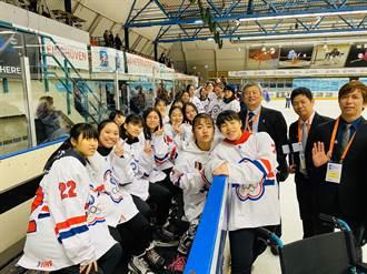 U18世界盃冰球賽 中華女將全勝奪金