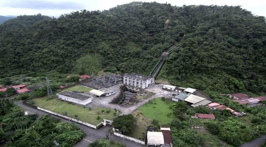 台電蘭陽電廠。(圖/台電提供)