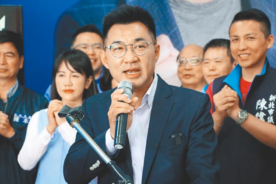競選連任成功的國民黨台中市立委江啟臣大年初一宣布將角逐中國國民黨主席的補選。(本報資料照片)