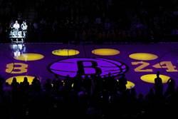 NBA》哀悼!籃網替布萊恩父女留座位