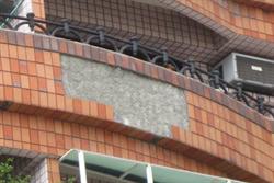 寒流來襲 南市府呼籲建築物外牆磁磚避免剝落釀工安