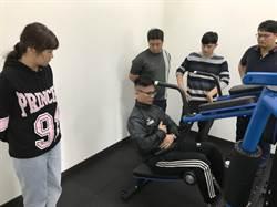 大溪警常訓多元化  健身房館長傳授課程