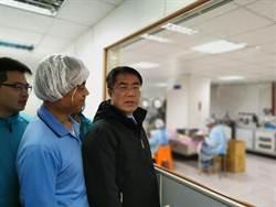 黃偉哲視察口罩工廠 確保台南日產85萬片口罩