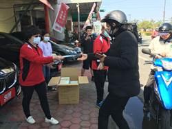 民眾嘆買不到口罩 汽車業者免費送5000份口罩