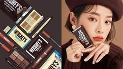 HERSHEY'S造型眼影太可愛了!韓妝和巧克力品牌推出限量聯名美妝