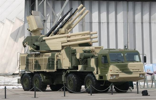 鎧甲-S防空系統,是俄國頗自豪的低空防禦系統。(圖/希普諾夫設計局)