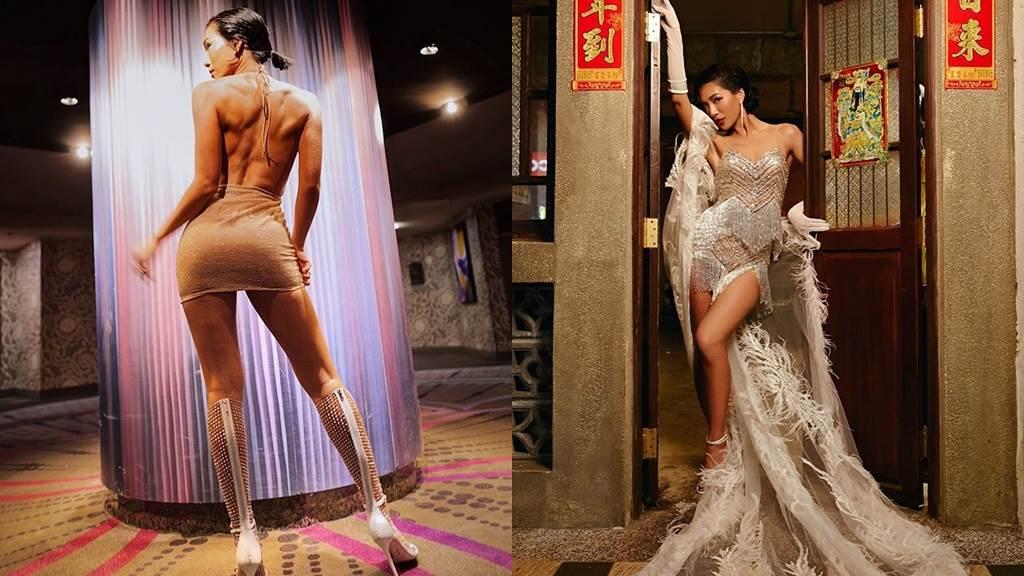 莫莉的大長腿和性感身材完全是女孩們的夢想啊!(圖/IG@molly_chiang)