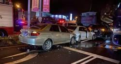 酒駕逃逸又撞3車 駕駛送醫不治