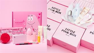 粉紅控請舉手!「泡泡先生」美妝盒二月份限量推出