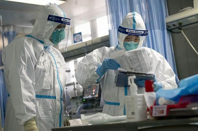 武漢肺炎病毒肆虐全球。(示意圖,新華社)