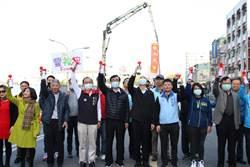 中華地下道填平工程啟動 韓國瑜行祈福儀式